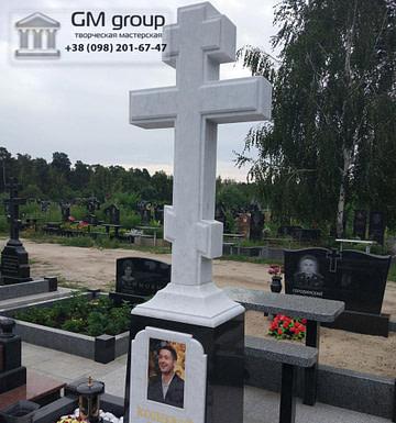 Крест на могилу №324