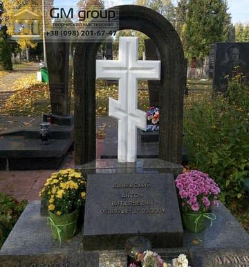 Крест на могилу №296