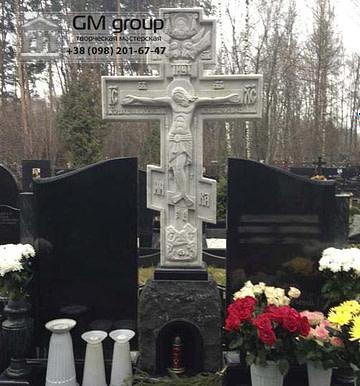 Крест на могилу №278