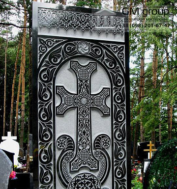 Крест на могилу №335