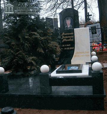 Памятник из гранитнита женщине №86