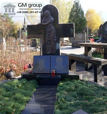 Крест на могилу №297