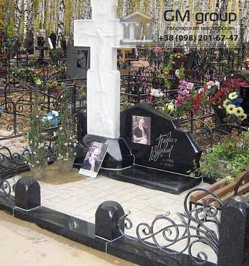 Крест на могилу №320