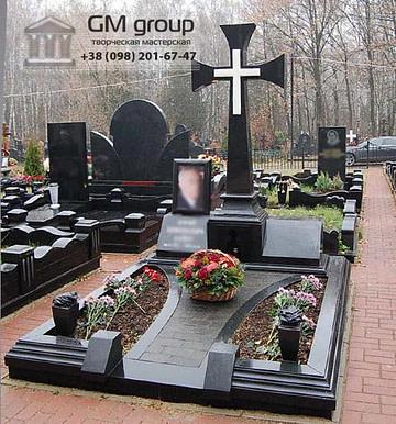Крест на могилу №332