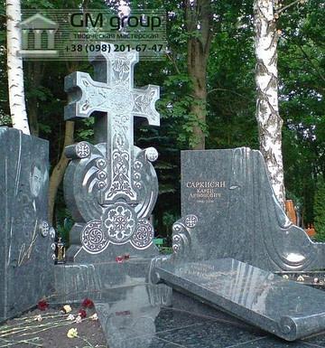 Крест на могилу №312