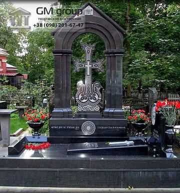 Крест на могилу №285
