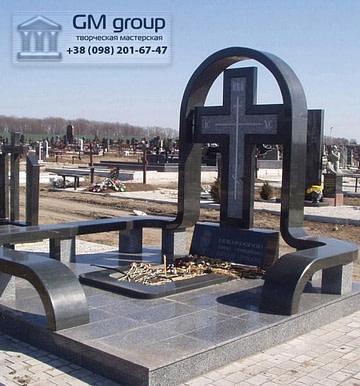 Крест на могилу №309