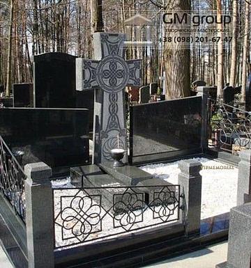 Крест на могилу №319