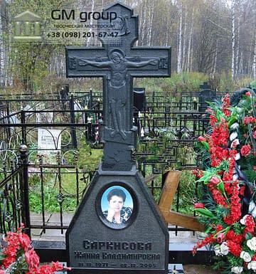 Крест на могилу №277