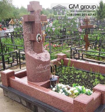 Крест на могилу №304