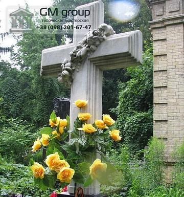 Крест на могилу №337