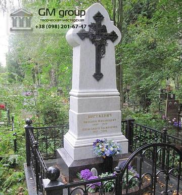 Крест на могилу №333