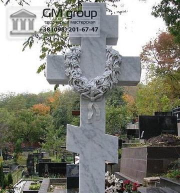 Крест на могилу №318