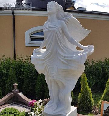 Скульптура ангела из мрамора №22