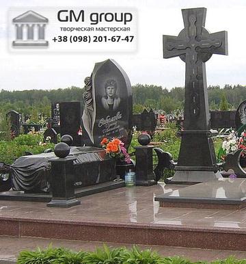 Крест на могилу №308