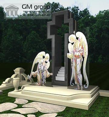 Крест на могилу №336