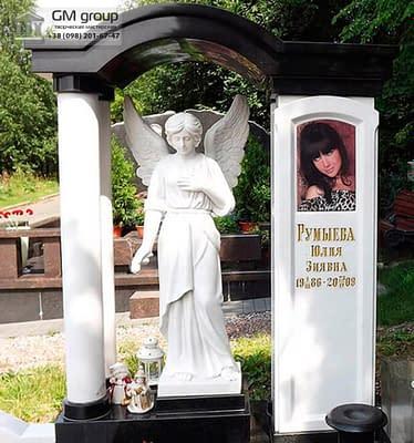 Скульптура ангела из мрамора №12