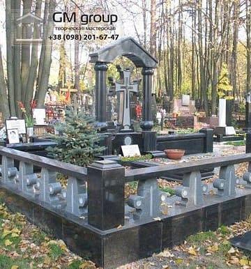 Крест на могилу №306