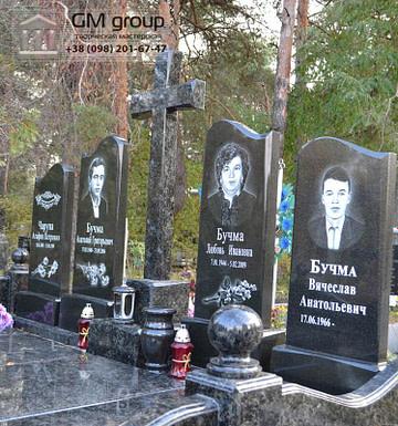 Семейный памятник из гранита №95
