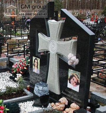 Крест на могилу №302