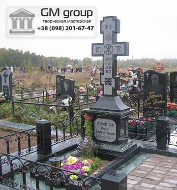 Крест на могилу №322