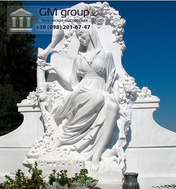 Скульптура Ангела из мрамора №43