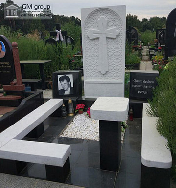 Мраморный памятник №34