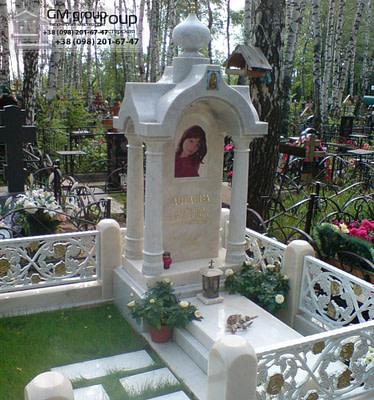 Памятник из мрамора № 51