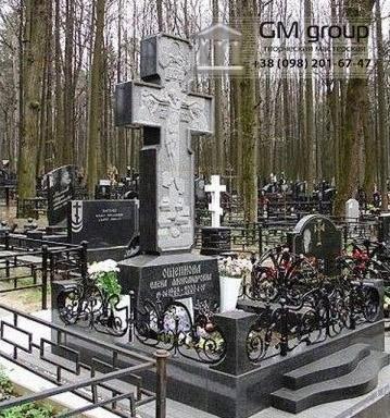 Крест на могилу №311