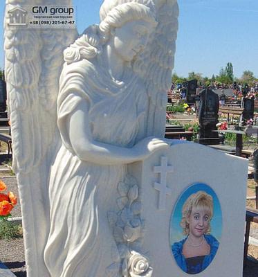 Скульптура Ангела из мрамора №65